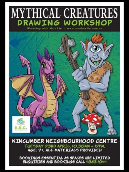 Mythical Creatures Drawing Workshop